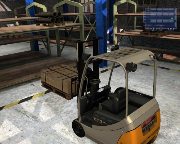Simulátor vysokozdvižný vozík